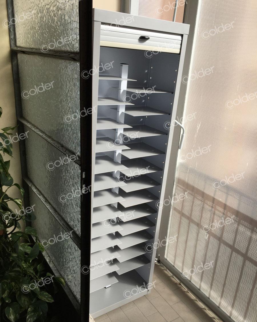 Scarpiera a serrandina da balcone torino grugliasco collegno rivoli colder armadi - Scarpiera da esterno ikea ...