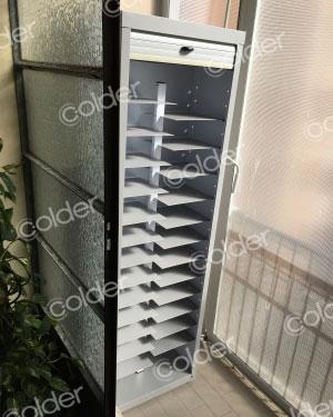 Produzione di armadietti da balcone e da interni a torino vicino a grugliasco colder armadi - Armadietti da terrazzo ...