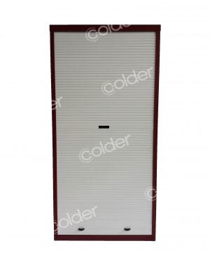 Armadi a serrandina su misura metallici da balcone torino for Mobili a serrandina
