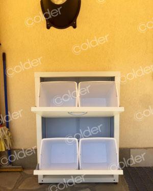 Produzione di armadietti da balcone e da interni a torino for Mobili terrazzo